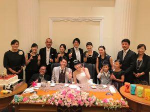 ご結婚おめでとうございます・・・