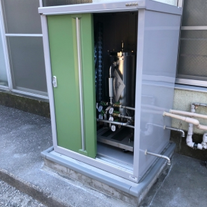 浄水器設置・・・